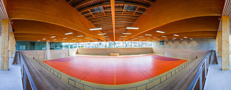 Gymnase Longvic interieur et toiture-29