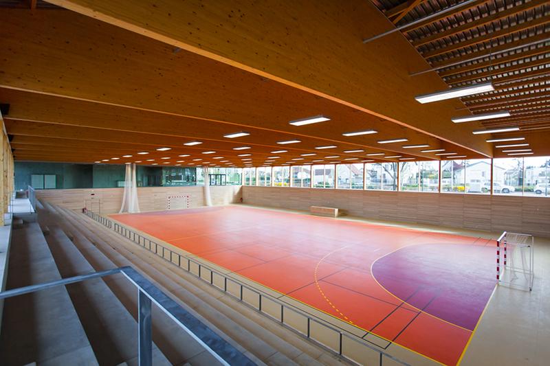 Gymnase Longvic interieur et toiture-30